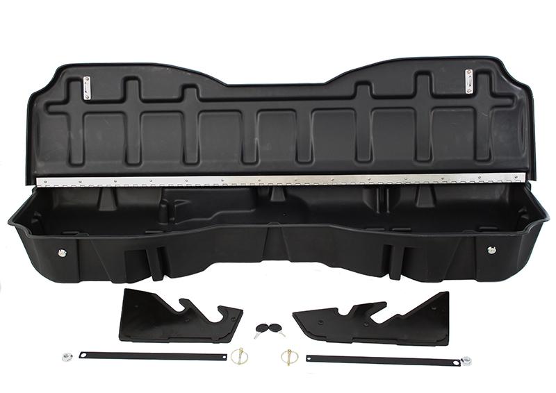 DU-HA Underseat Storage / Gun Case - Part # 10307- Jet Black