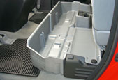 The DU-HA with no dividers can accomodate larger items.