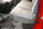Toyota DU-HA shown installed under the rear seats.