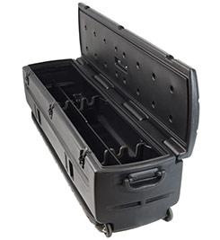 Includes removable dividers and organizer / gun rack set. DU-HA TOTE - Part # 70103.