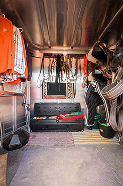 The DU-HA TOTE also fits in many horse trailers. DU-HA  Part # 70103 and 70104.