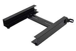 The Tote Slide Bracket assembles easily. Install the optional TOTE Slide Bracket to prevent the TOTE from sliding around unsecured in your vehicle.  DU-HA TOTE Slide Bracket - Part # 70104.