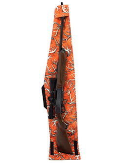 DU-HA Dri-Hide - The top flap of the Dri-Hide is also designed to help keep dirt and mud out of your gun barrel. Insert the tip of your gun under the top flap when you're out hunting in a muddy field, to help prevent dirt and mud from getting into your gun barrel.