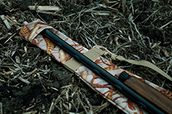 DU-HA Dri-Hide - Insert the tip of your gun under the top flap when you're out hunting in a muddy field, to help prevent dirt and mud from getting into your gun barrel.