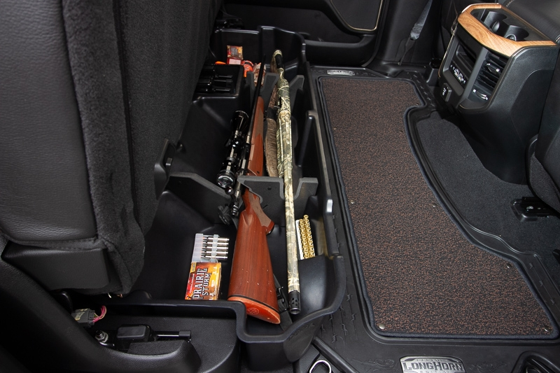 Guns can get damaged when stored like this