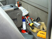 Instead of your backseat looking like this...