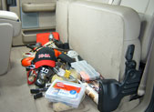 Don't let your backseat look like this!