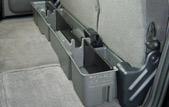 Also includes 2 piece organizer/gun rack set