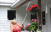70088 - Reach E-Z - The Reach E-Z comes in handy around the house. Use it to hang flower baskets or bird feeders.