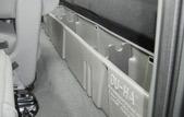 Insert organizer/gun racks to hold guns