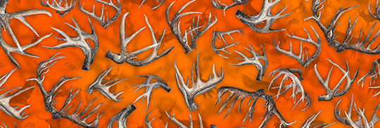 DU-HA DRI-HIDE - Nature's Perfect Camo - Whitetail Racks Pattern
