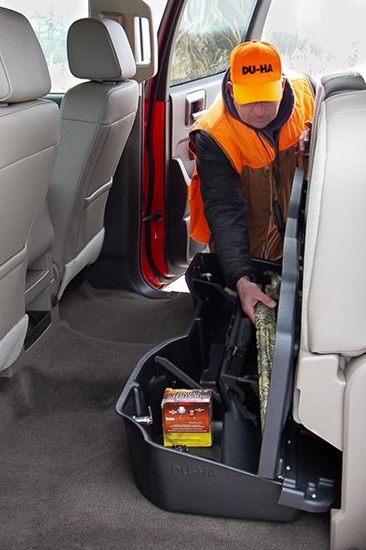 DU-HA Underseat Storage / Gun Case - Part # 10307 - Ash / Gray
