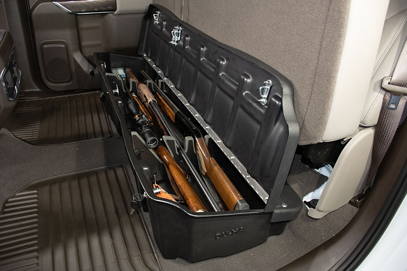 DU-HA Underseat Storage / Gun Case - This DU-HA will hold 2 shotguns or rifles without scopes.