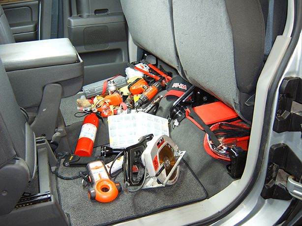 Don't let your back seat look like this...