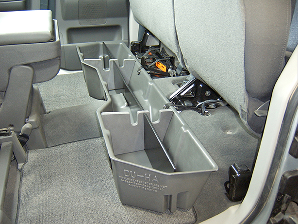 Also comes with gun rack/organizers