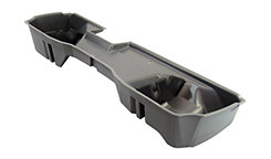 DU-HA Underseat Storage - Part # 10305 - Ash/Gray